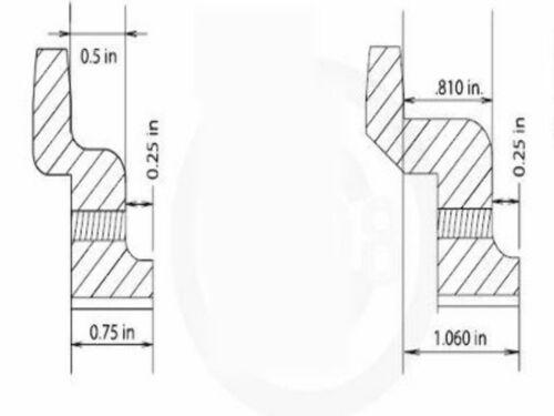 "FOR HARLEY SPORTSTER /& BIG TWIN 24 TOOTH 1//2/"" OFFSET TRANSMISSION SPROCKET"