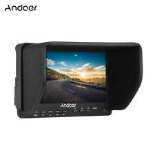 "7"" Inch IPS Ultra HD LCD Video Camera Field Monitor External Screen AV J8Z5"