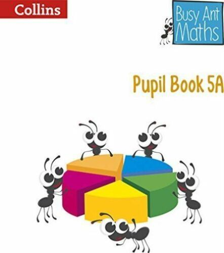 1 of 1 - Collins Busy Ant Maths Pupil Book 5A BRAND NEW BOOK (Paperback 2014)