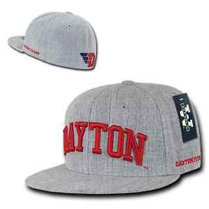341988a8c3c Image is loading Heather-Gray-Dayton-University-UD-Flyers-NCAA-Fitted-