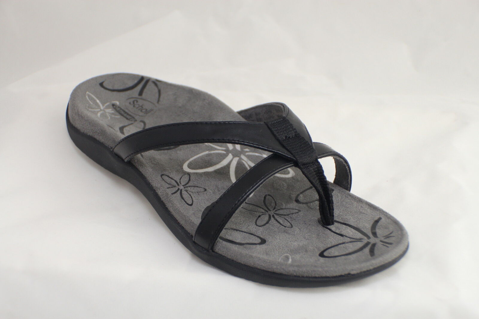 Orthaheel Scholl Orthotic Orthotics Women's Moraga Sandals Black