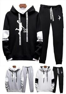 Mens-Michael-Air-Legend-23-Jordan-Tracksuit-Hoodie-amp-Pants-Men-Sportswear-Fashion