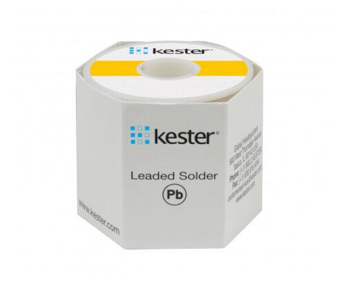 "Kester solder 44/"" Rosin Core #66//44 .8mm 1 lb Spool sn60 pb40 24-6040-0027"
