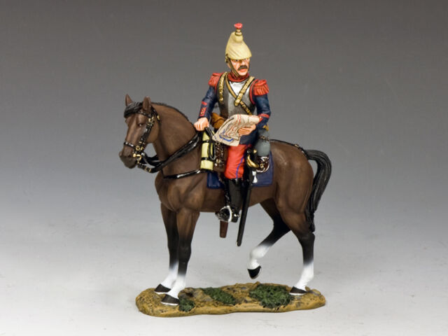 FW221 Cuirassier studying map by King and Country