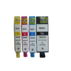8x-COMPATIBLE-INK-HP-564-XL-564XL-for-Photosmart-3520-5520-4620-7520e-All-in-One