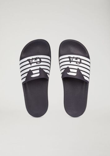 Designer Sliders Homme Emporio Chaussures Armani vwRfxqF