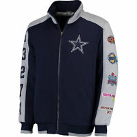 Dallas Cowboys Super Bowl Commemorative Fleece Jacket - Adult Large
