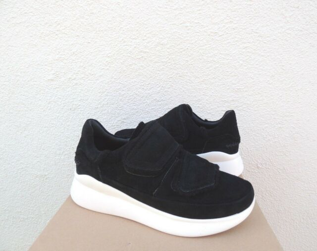 97ce6bd847e UGG Ashby Spill Seam Black Suede Fashion SNEAKERS Women US 11/ EUR 42