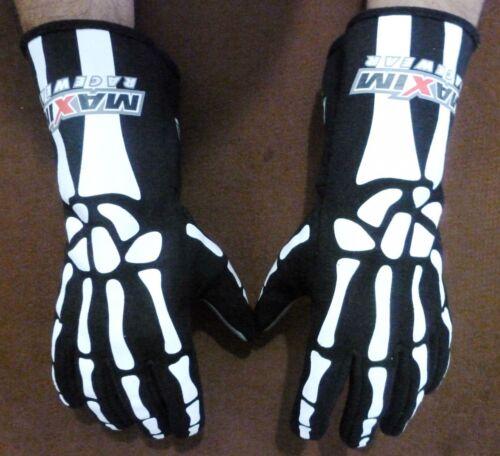 Maxim Signature Series SFI 3.3//5 Bones Driving Racing Gloves Size Medium 30104