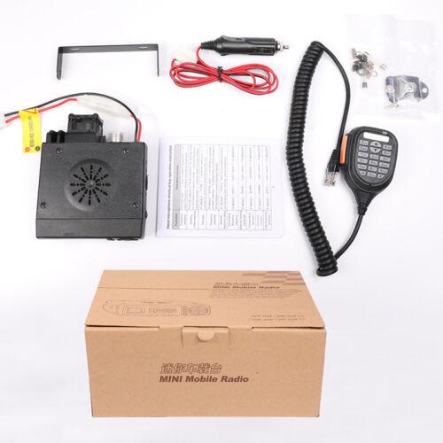 USA Stock Zastone Z218 Mobile Radio 25W Dual Band Walkie Talkie 10KM Transceiver