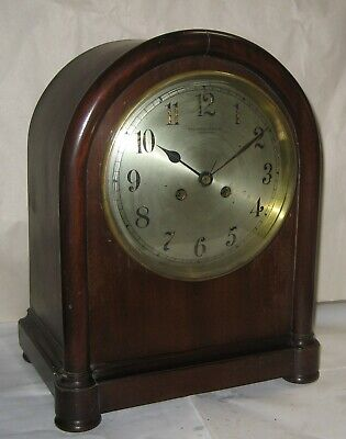 Vincenti Bailey Banks Biddle French 8 Day Cabinet Chime Clock Mahogany Working Ebay