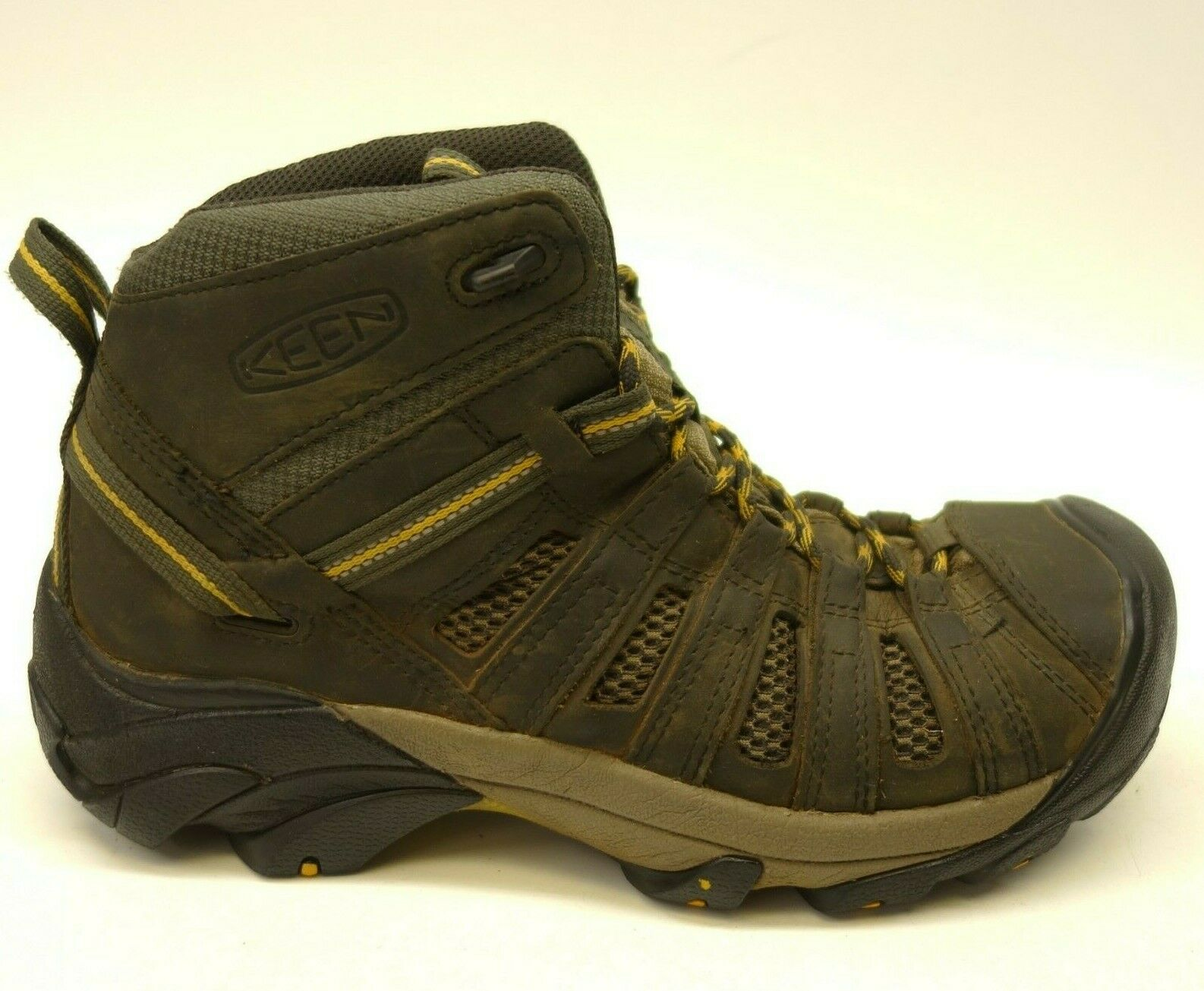 Keen Voyageur Mid US 9 Leather Athletic Support Hiking Trail Mens shoes