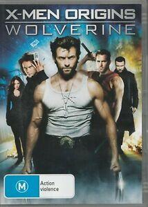 X-Men-Origins-Wolverine-DVD-2009-Rated-M-Region-4-PAL-Starring-Hugh-Jackman