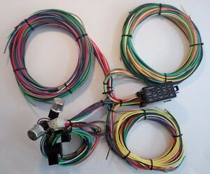 21 circuit ez wiring harness mini fuse chevy ford hotrods universal Ezgo Battery Wiring Diagram image is loading 21 circuit ez wiring harness mini fuse chevy
