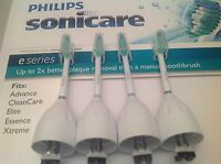 Philips Sonicare Toothbrush E Series Replacement Brush Heads - 4 Pack