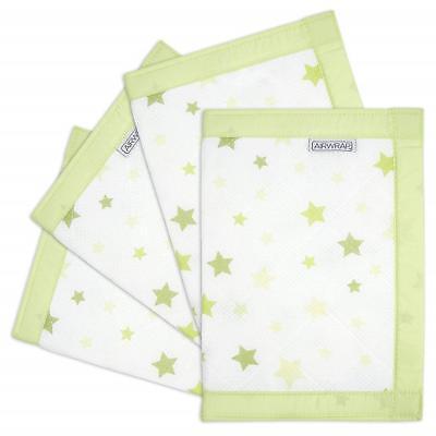 Airwrap Mesh lettino protettore Lavanda stelle lettino//culla//cotbed PARAURTI 4 lati