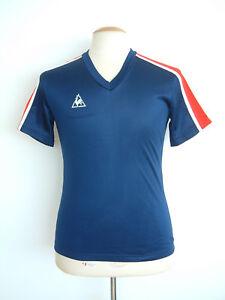 Le-Coq-Sportif-Vintage-Top-decada-de-1970-s-hecho-en-Inglaterra-nuevo-viejo-Stock-Copa-Del-Mundo