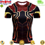 Mens-Marvel-Compression-Armour-Base-Layer-Gym-Top-Superhero-Cycling-T-shirt-fit thumbnail 76