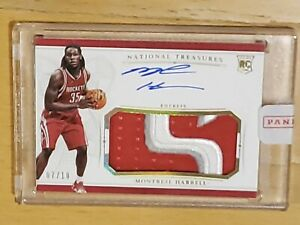 2015-National-Treasures-Montrezl-Harrell-Auto-RC-RPA-GOLD-7-10-Rookie-Sealed