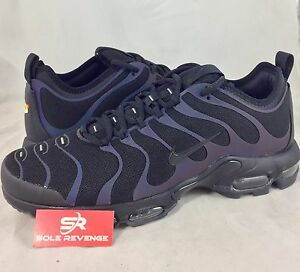 New NIKE AIR MAX PLUS TN ULTRA REFLECTIVE Black Anthracite Shoes ... 969c7c880
