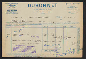 PARIS-IV-DISTILLERIE-VIN-TONIQUE-AU-QUINQUINA-034-DUBONNET-034-1950