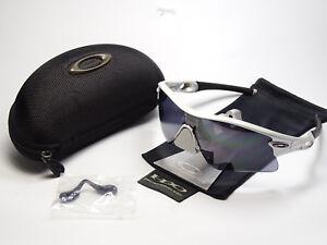 Oakley-Radar-Path-White-Chrome-Sonnenbrille-Radbrille-M-Frame-Ev-Zero-M2-Jawbone