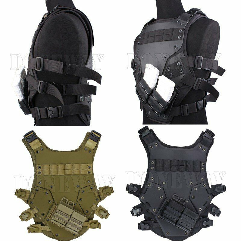 Adjustable Cosplay TF3 Vest Harness Chest Rig Tactical Tactical Tactical Hunting Airsoft CS Game ce0fb4