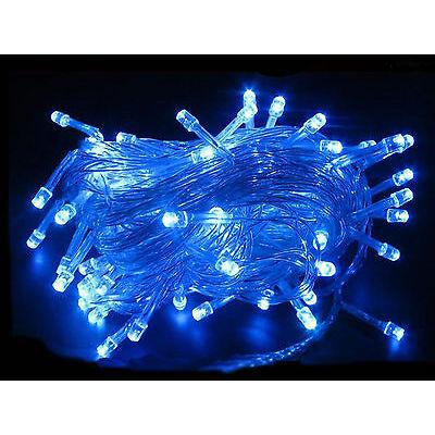 10M 100 LED Christmas Tree Fairy String Lights Party Lamp Xmas Decor Waterproof
