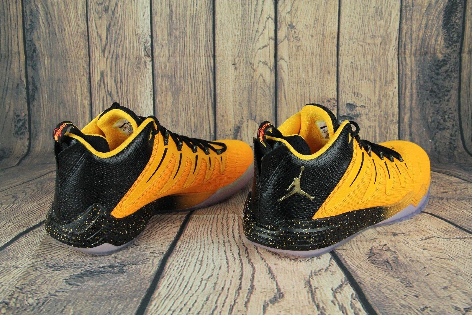 Para Hombre Zapato JORDAN CP3 810868-012 IX BASKETBALL AIR Amarillo/Negro 810868-012 CP3 tamaño 14  Nuevo d15e67