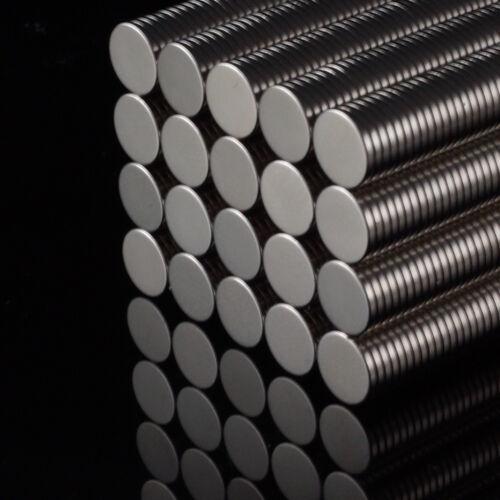 5x Neodym Scheiben Magnete Ø8 x 1 mm N52 410g Haftkraft NdFeB D8x1 mm rund