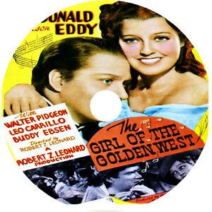 The-Girl-of-the-Golden-West-DVD-Jeanette-MacDonald-Nelson-Eddy-V-rare
