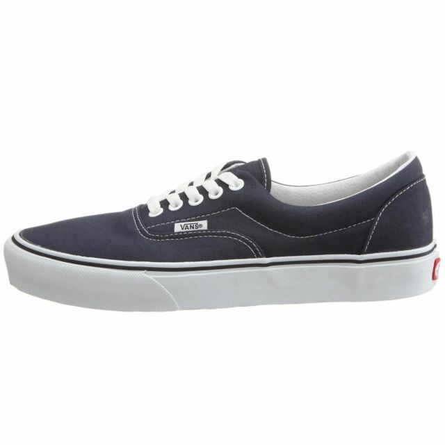 d34ebc7686 VANS Era Navy Blue Canvas 0ewznvy Skate Shoes Casual SNEAKERS Men ...