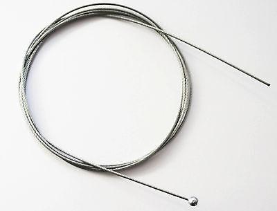 Abhängeseil Stahl Draht 2 Meter lang 2 mm Durchmesser mit Kugel