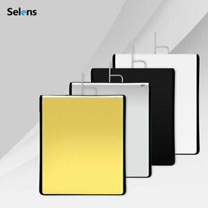 Multi Size Stainless Flag Panel Cloth Reflector Diffuser for Photo Video Studio