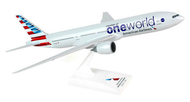 American airlines oneworld boeing 777-200 1 200 b777 skr822 skymarks skr822a AA