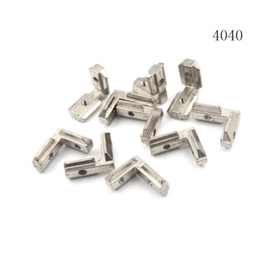 10pcs T Slot L-Shape Aluminum Profile Interior Corner Connector Joint Bracket Jz