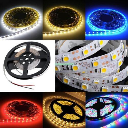 Waterproof Flexible LED Strip Lights Fairy Lamp SMD 5050 3528 For Decor 5m 12V