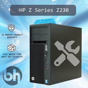 HP-Z230-Workstation-Win10Pro-PC-Xeon-4Core-Configure-CPU-RAM-SSD-Upto-3-6GHz32GB