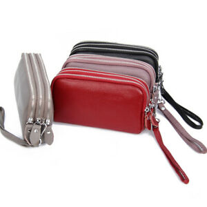 Leather-Large-Capacity-Wallet-Clutch-Handbag-Ladies-Zip-Coin-Purse-with-Wristlet