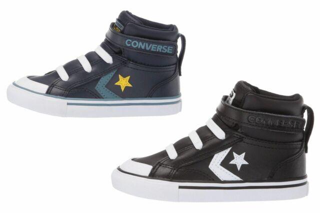 Converse Pro Blaze Strap Hi Top Toddler Infants Leather Shoes