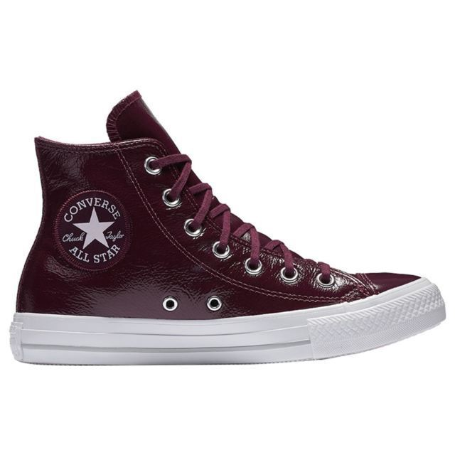 Wouomo Converse Chuck Taylor All Star High  Crinkled Leather  Fashion 557939C