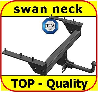 swan neck Tow Bar TowHitch Towbar TowBall Jeep Cherokee KJ 2001 to 2008