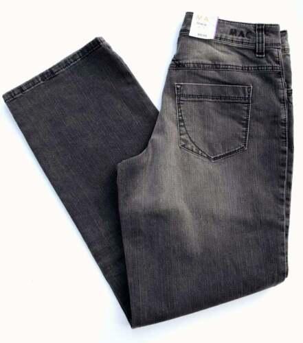 MAC Jeans GRACIA Black Denim Stretch comfort loose fit schwarz grau  NEU
