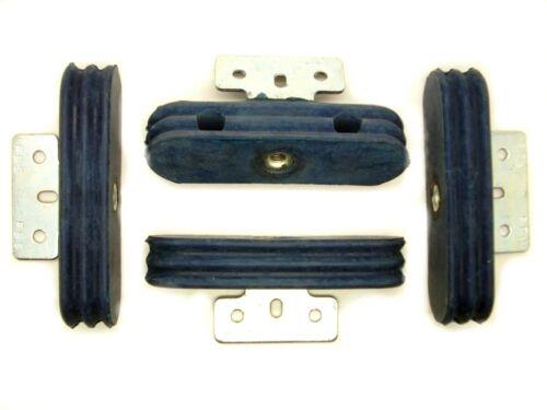 4 pcs vibration AMORTISSEUR FBS 100x29x19mm (en caoutchouc tampon, silentbloc, caoutchouc)
