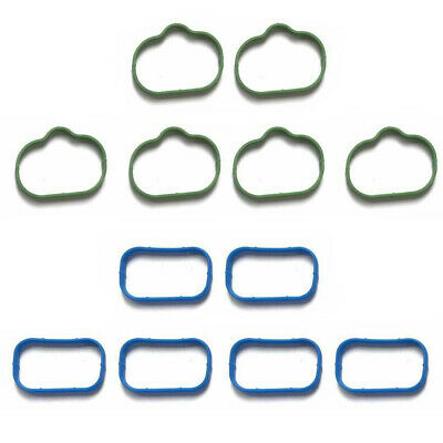 Intake Manifold Upper and Lower Gasket Set Fits Chrysler 200 300 Town and Country Dodge Avenger Challenger Charger Durango Jeep Grand Cherokee VW 3.2 3.6L DOHC Replaces OE# 5184562AC MS97204