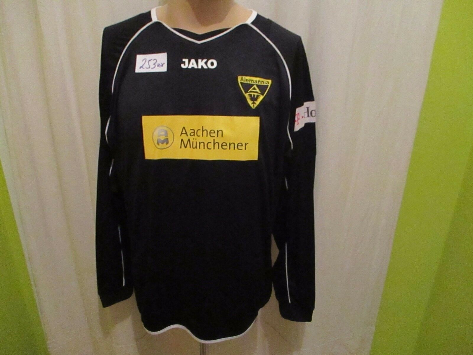 Alemannia Aachen Jako Langarm Matchworn Trikot 2008/09 + + 2008/09 Nr.17 Stehle Gr.XL TOP fad1d2