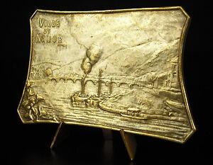 Medaglia-Spettacoli-Ville-Della-Namur-1927-Ponte-Della-Gambe-Belgio-Medal