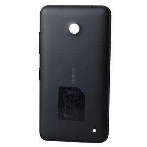 Nokia-Lumia-630-635-Akkudeckel-Akkufachdeckel-Back-Cover-Rueckseite-Neu-schwarz