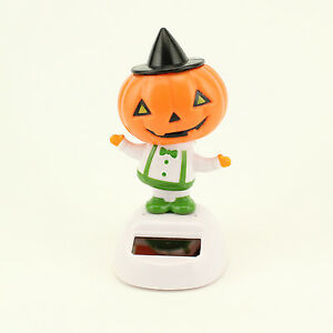 Details About Halloween Cute Solar Powered Dancing Happy Pumpkin Party  Window Desk Decorations