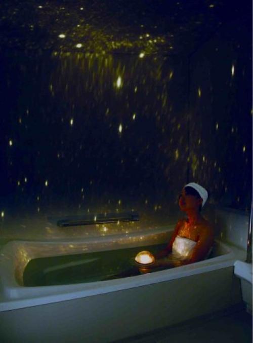 Used HOMESTAR Spa Bathroom Planetarium SEGA TYOS Waterproof Projector From JAPAN